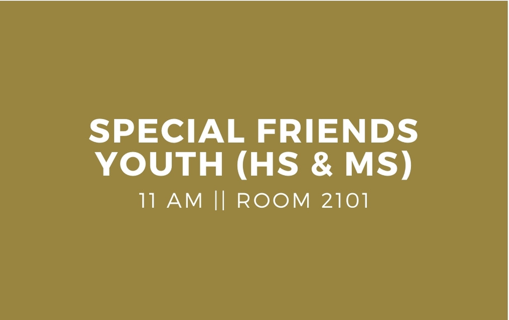 Special Friends Youth